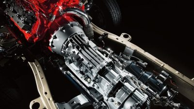 Titan XD Aisin 6-speed transmission.