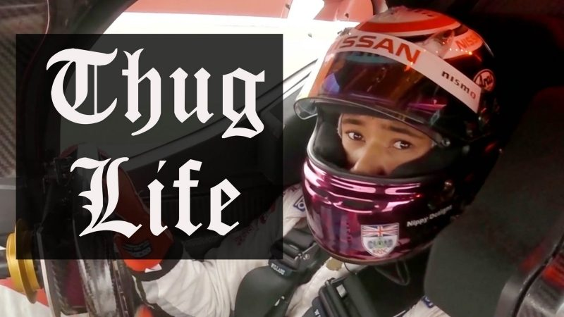 Thug Life: Driving the GT-R LM NISMO Like a Boss video.