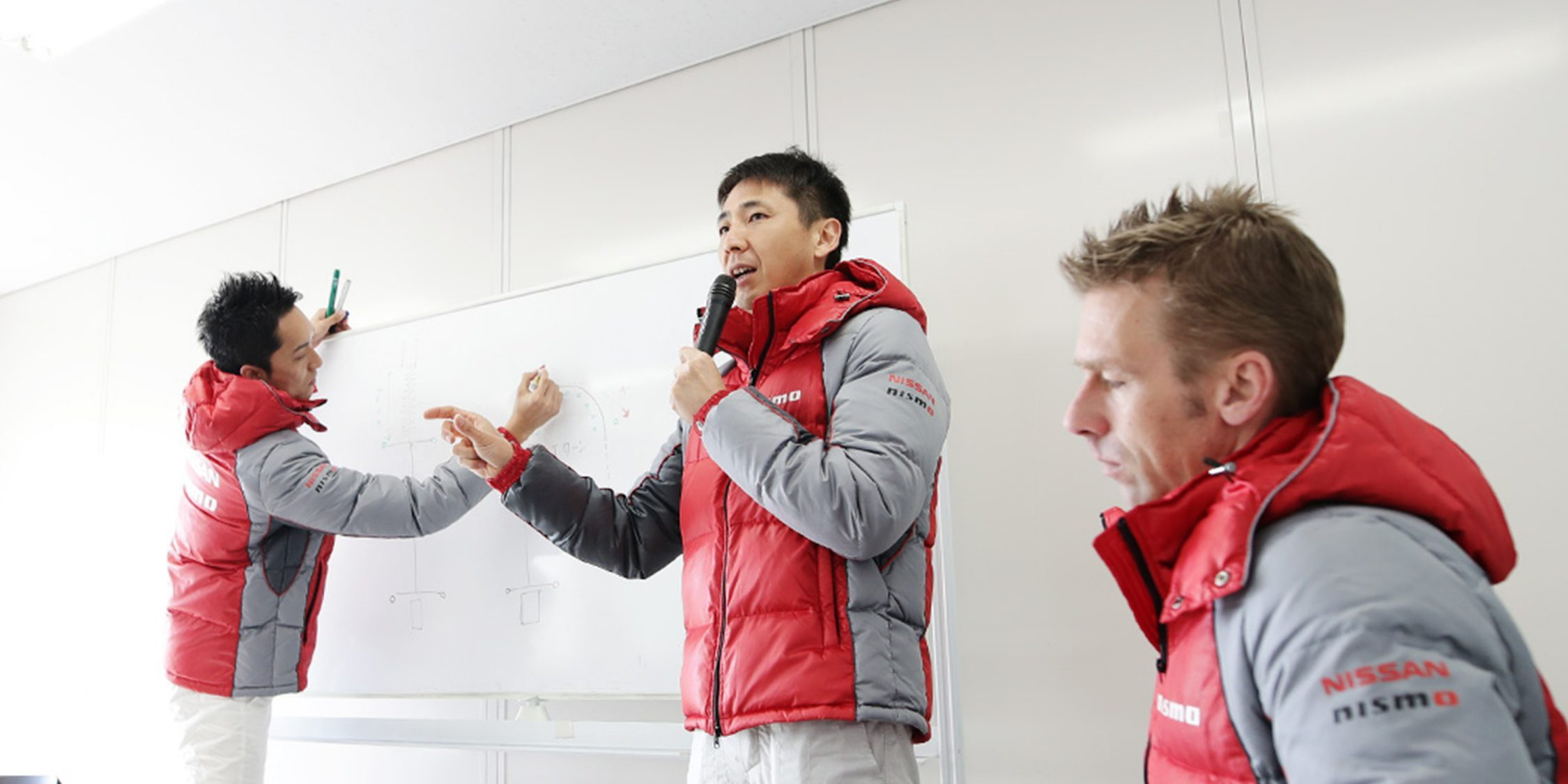 NISMO Driving Academy instructors