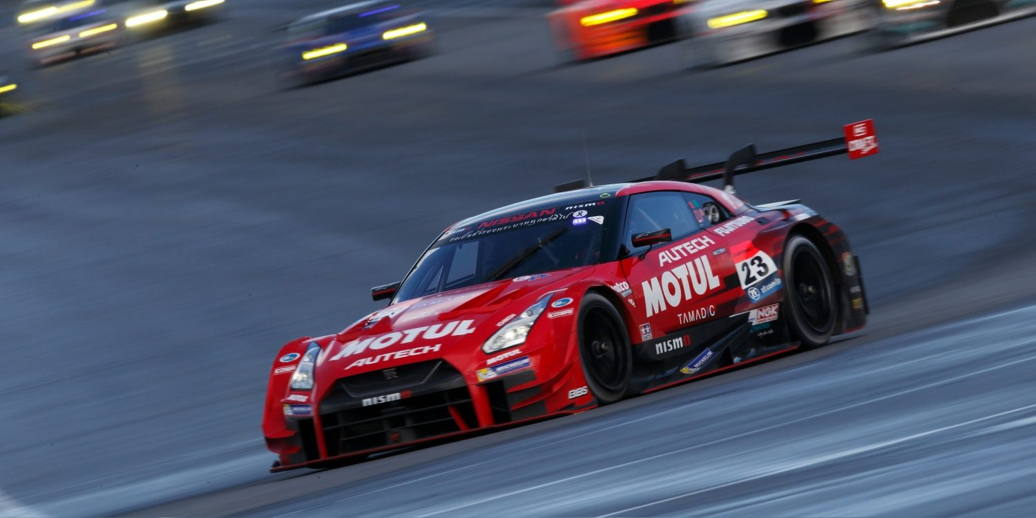 Nissan GT-R NISMO GT3 on racetrack
