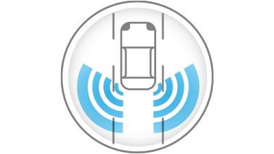blind spot warning icon