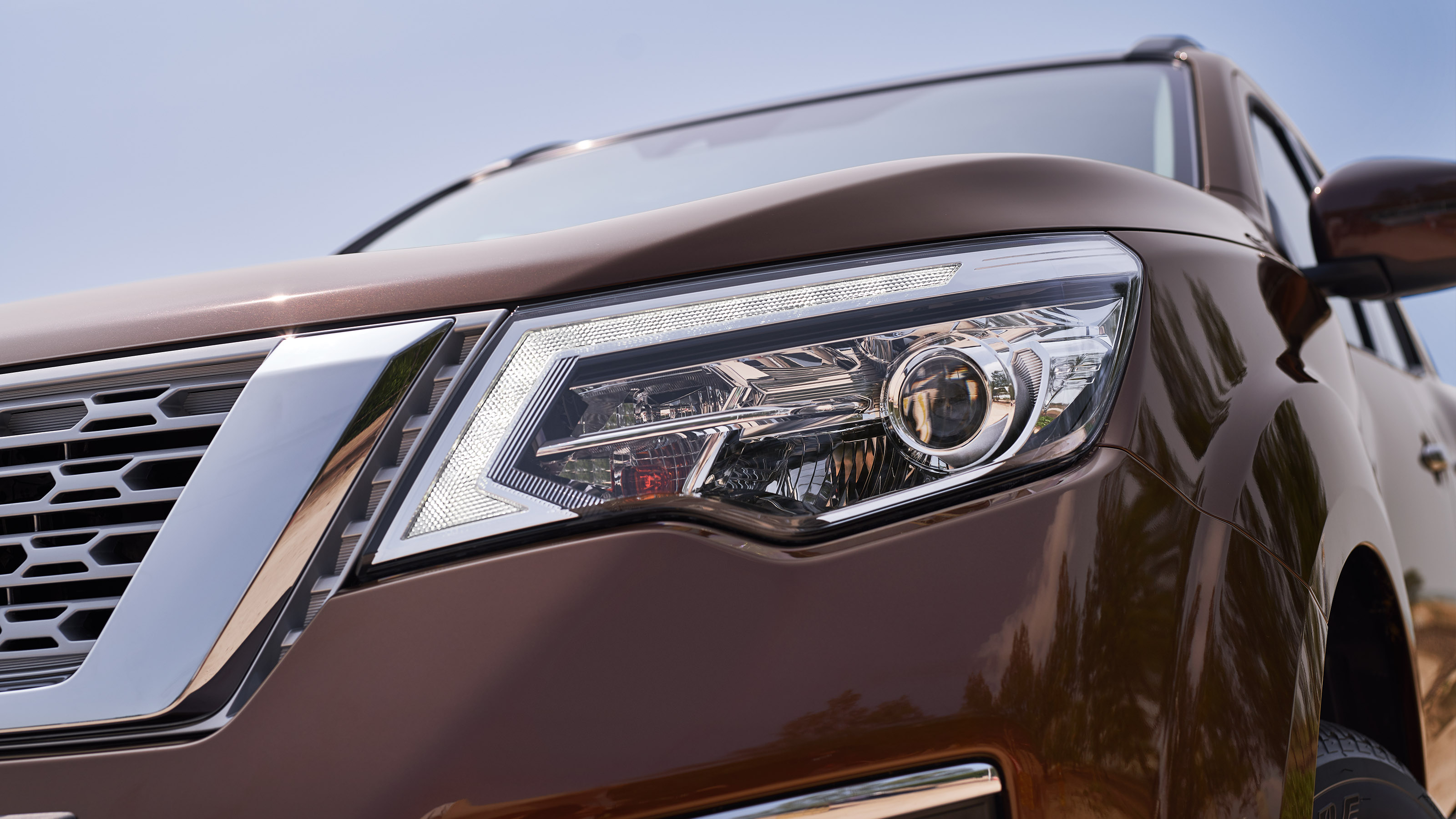 Nissan Terra LED headlamps