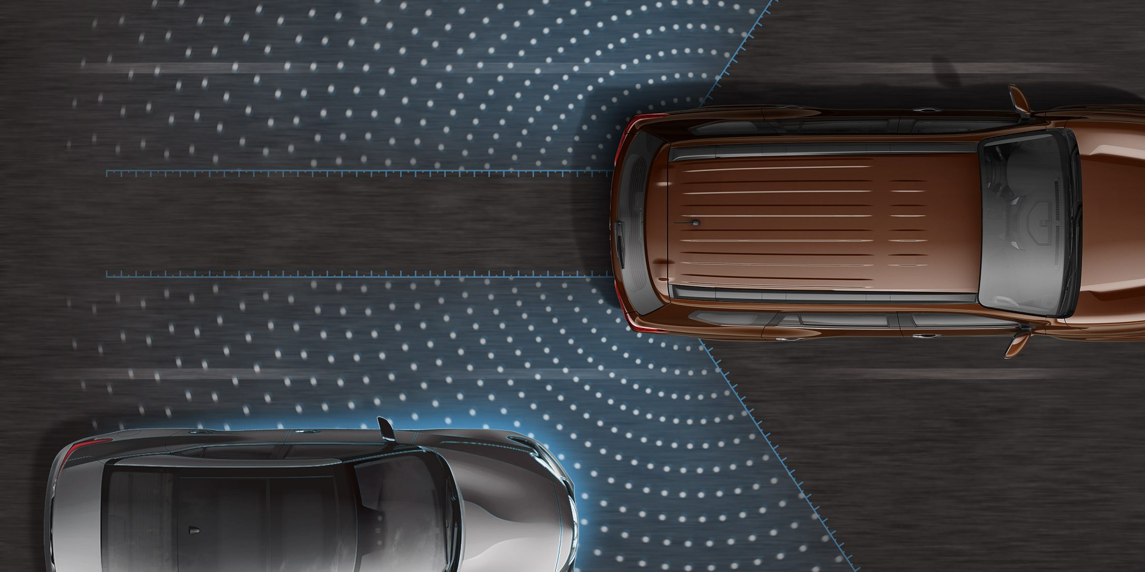 Nissan Terra Blind Spot Warning graphic