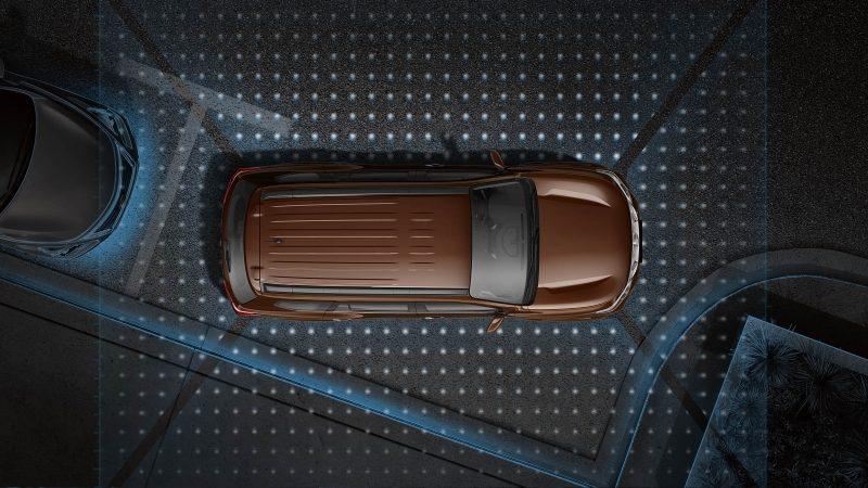 Nissan Terra Intelligent Around View Monitor graphic