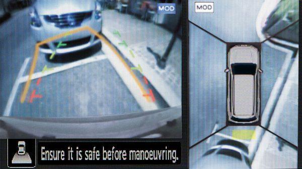 Nissan Terra Intelligent Around View Monitor