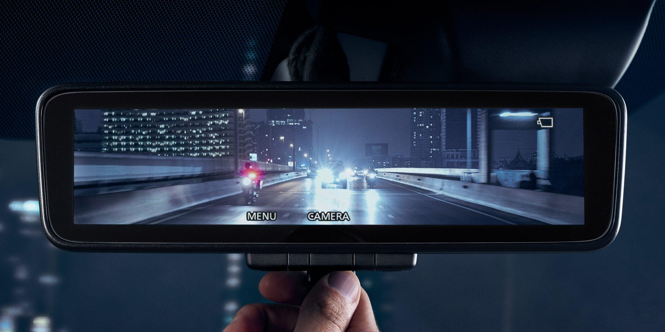 Nissan Terra Intelligent Rear View Mirror