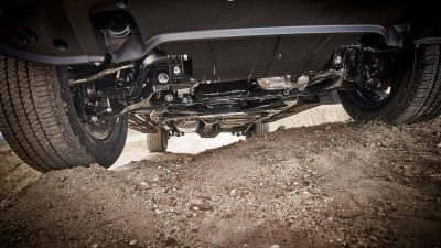 Nissan Terra ground clearance