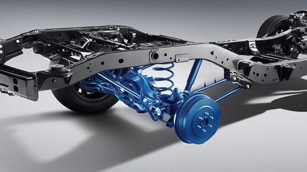 Nissan Terra suspension