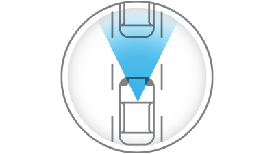 intelligent emergency braking icon