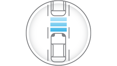 intelligent cruise control icon
