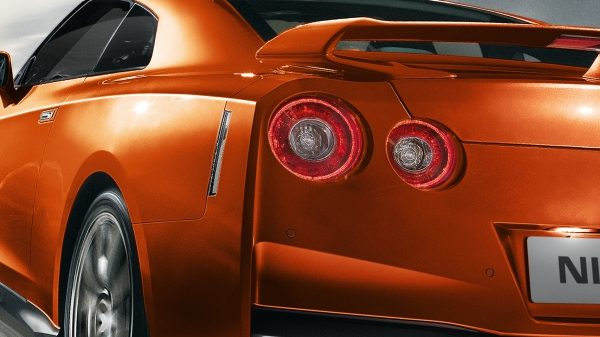 Nissan GT-R iconic round tail lamps