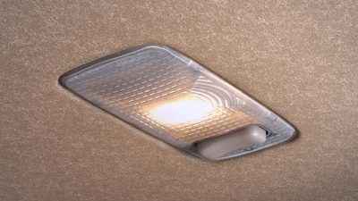 Rear reading light