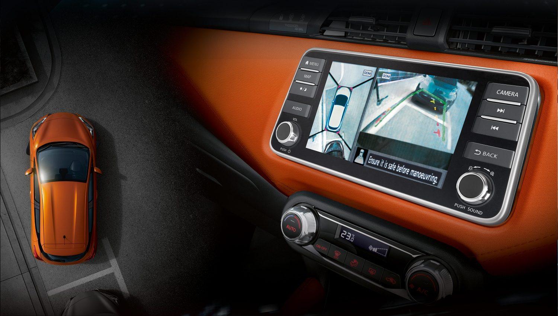 Nissan Around View Monitor display