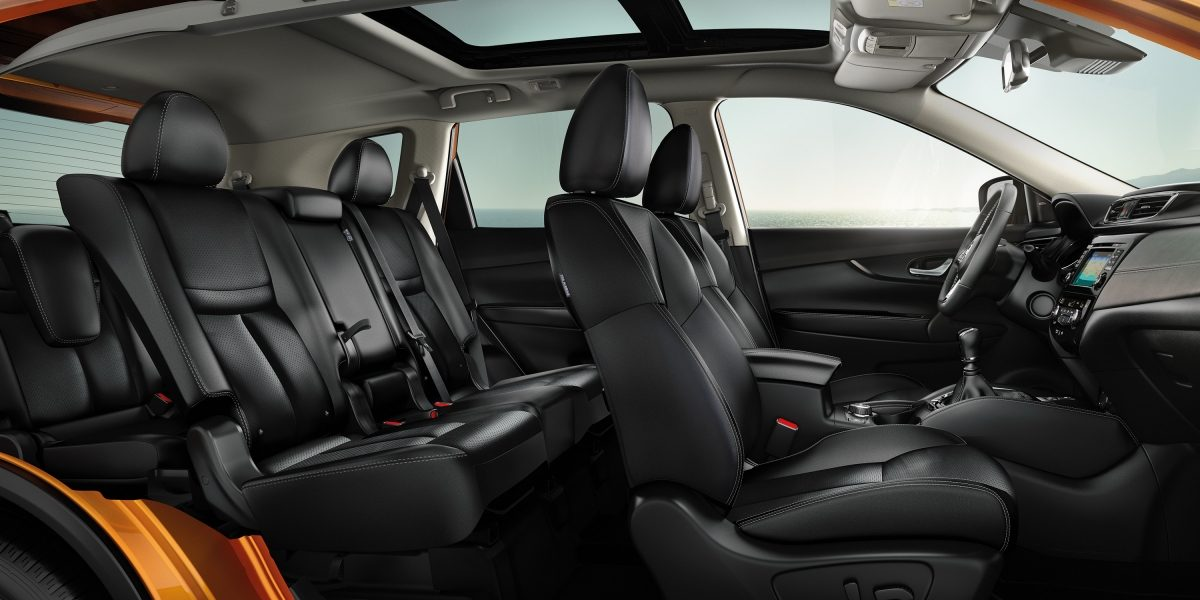 X-Trail Large interior profile with 7-seater