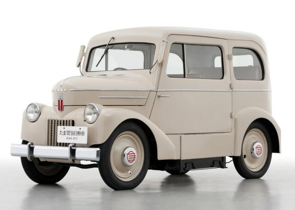 First EV model production, TAMA, in 1947. Over 70 years of EV development experience.