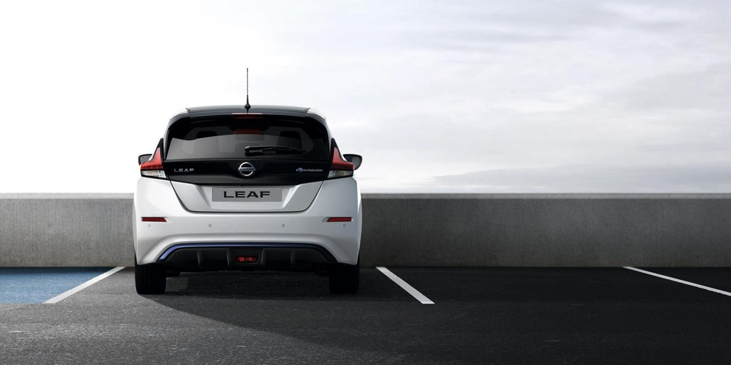Nissan Leaf back view
