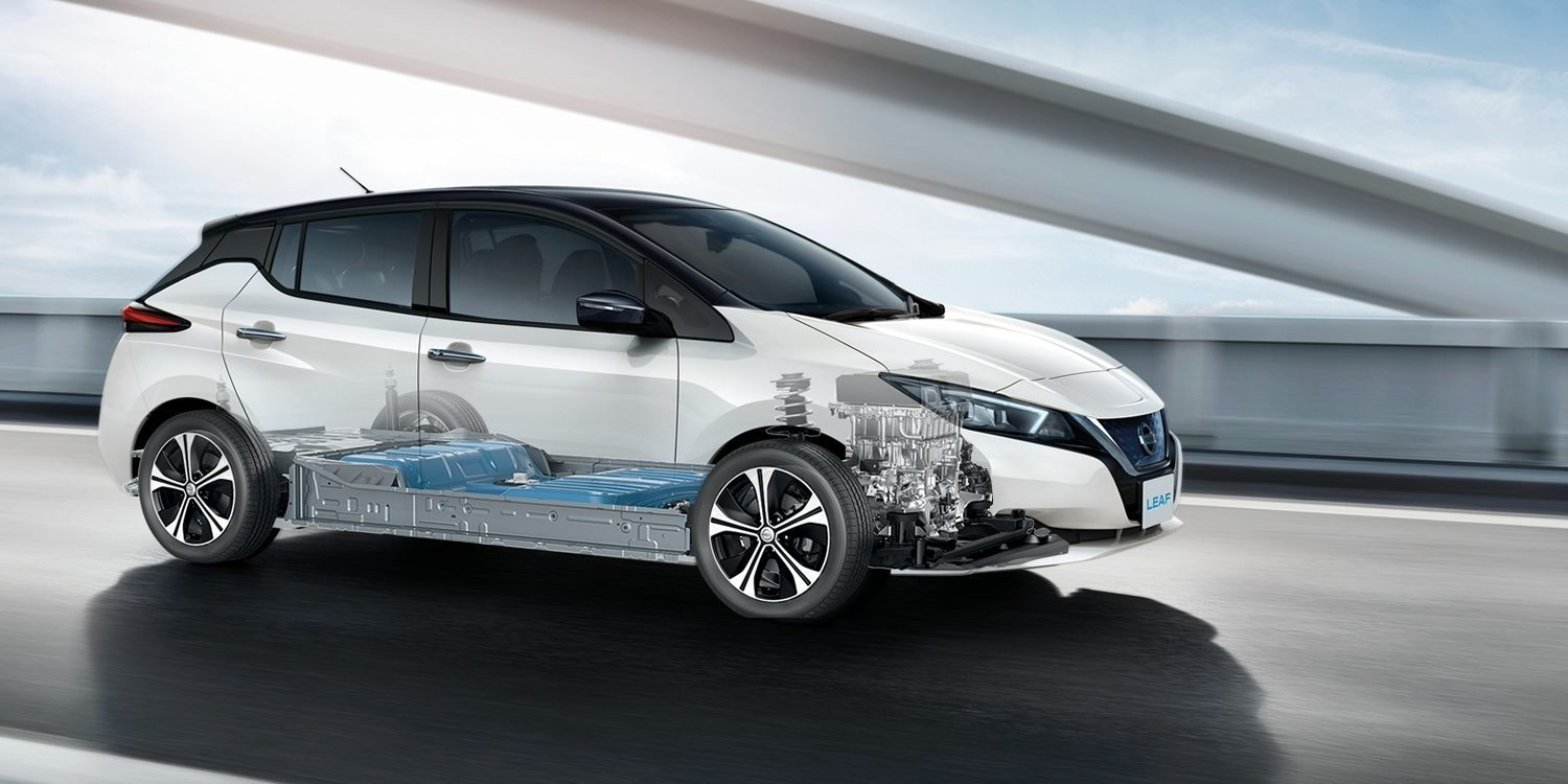 Nissan Leaf Intelligent Mobility X-ray