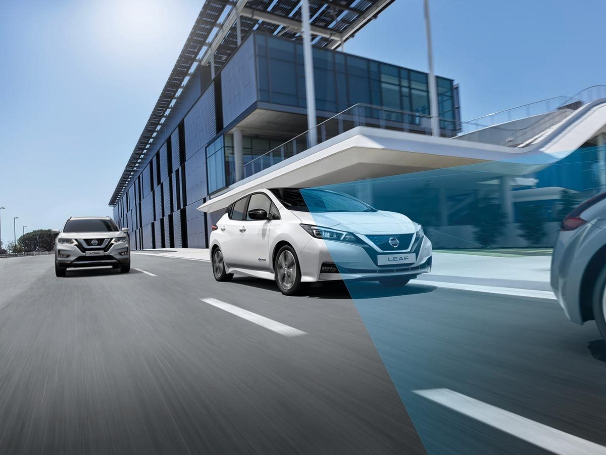 Nissan LEAF Intelligent Mobility safety features