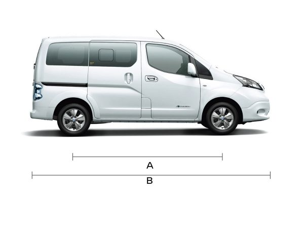 NISSAN e-NV200 Side View