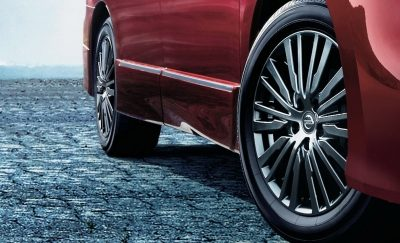 Chrome-coated aluminum-alloy wheels