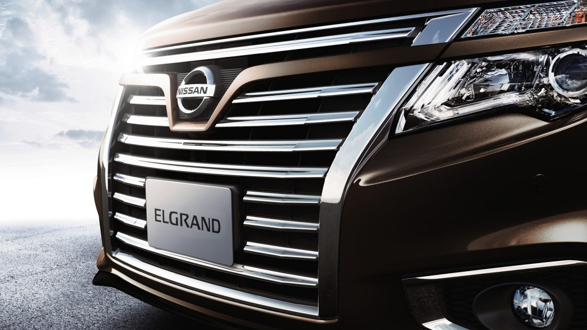 Nissan Elgrand Cutting edge technology