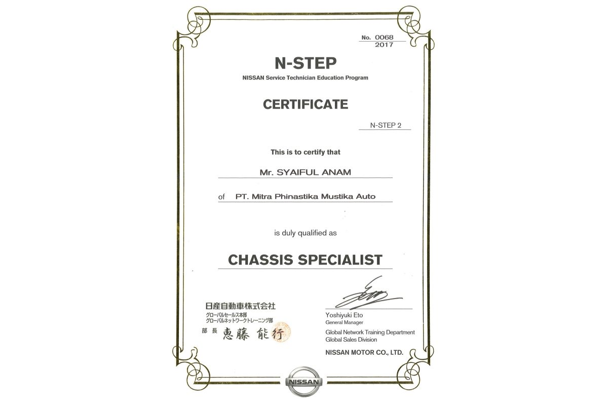 N-STEP 2 Chassis Specialist