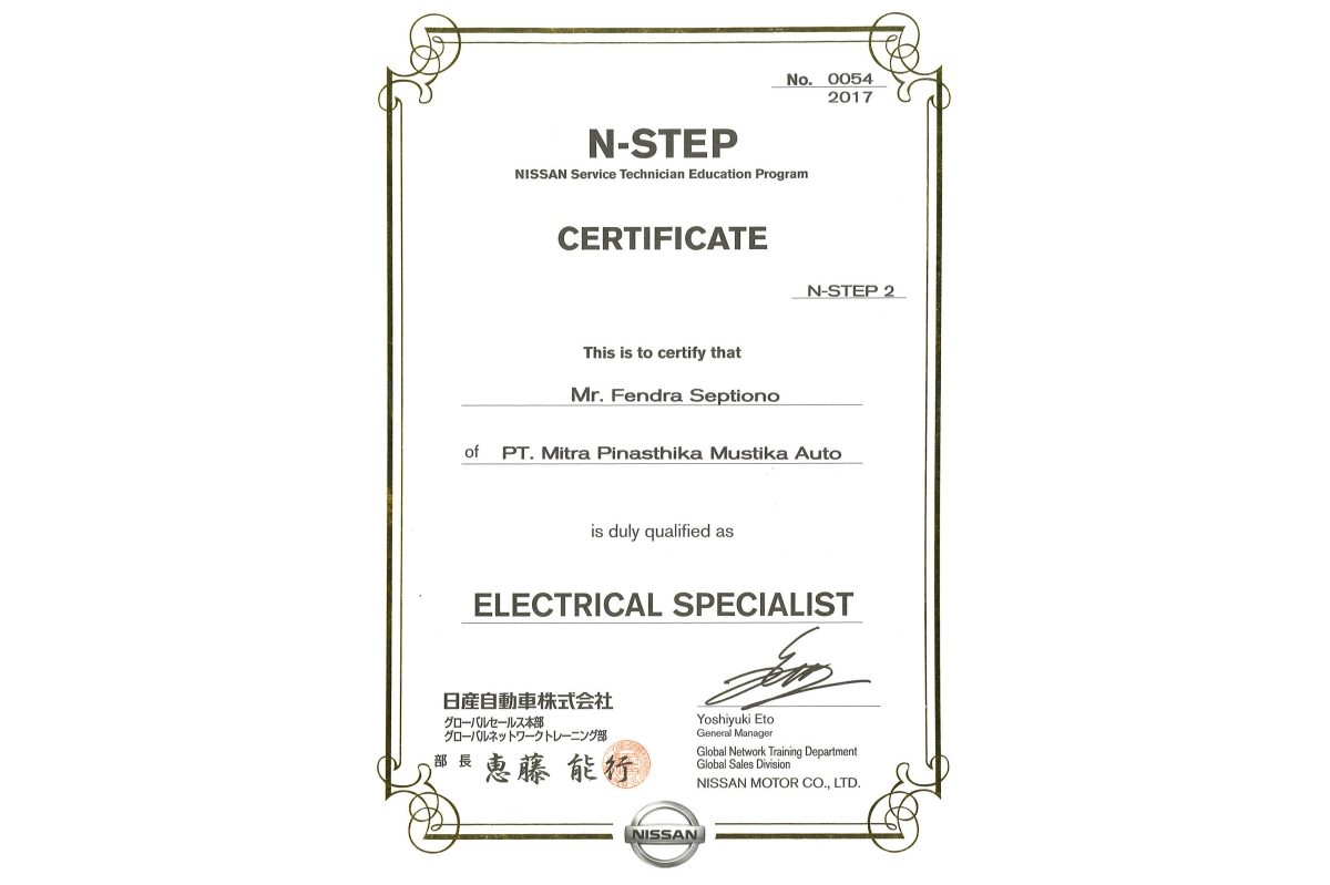 N-STEP 2 Electrical Specialist