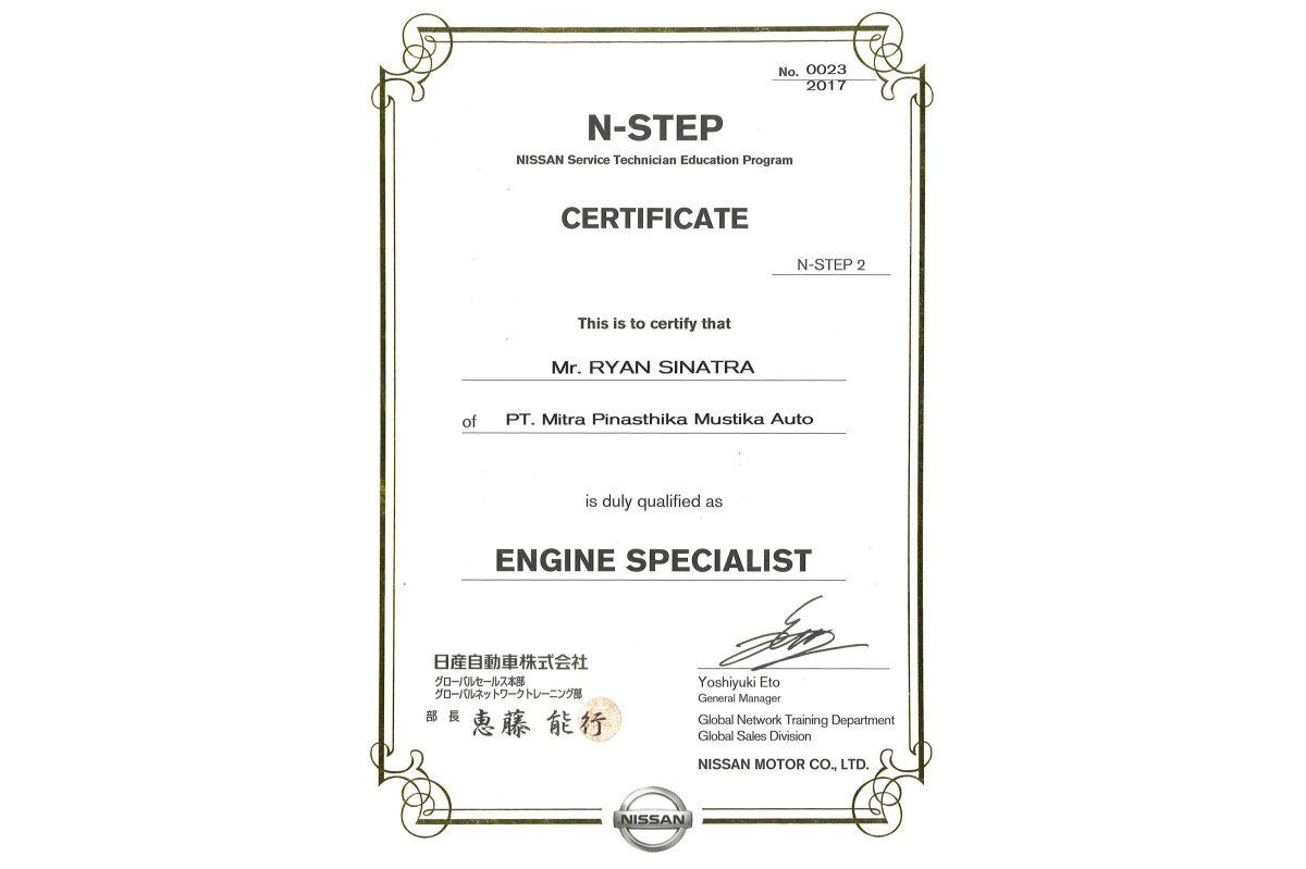 N-STEP 2 Engine Specialist