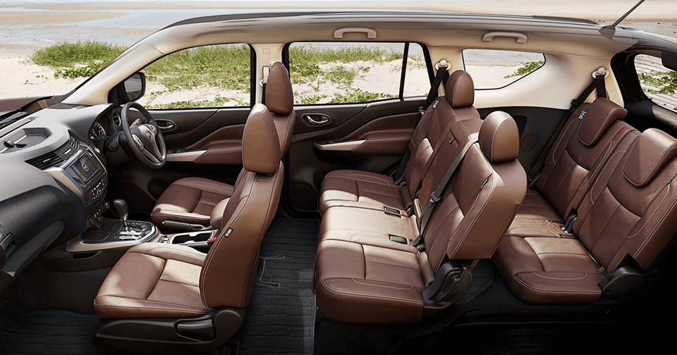 Nissan Terra Theatre Style Seating