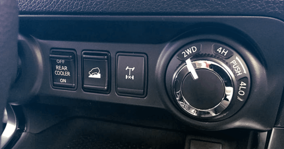 Nissa Terra 4WD Switch Control
