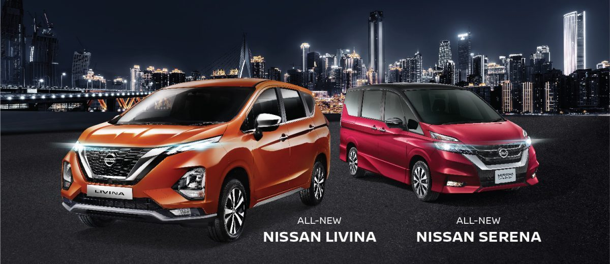 All New Livina, All New Serena