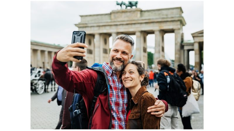 selfie slow travel