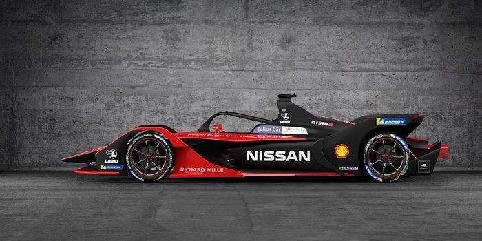 Tampilan Baru Nissan Formula E
