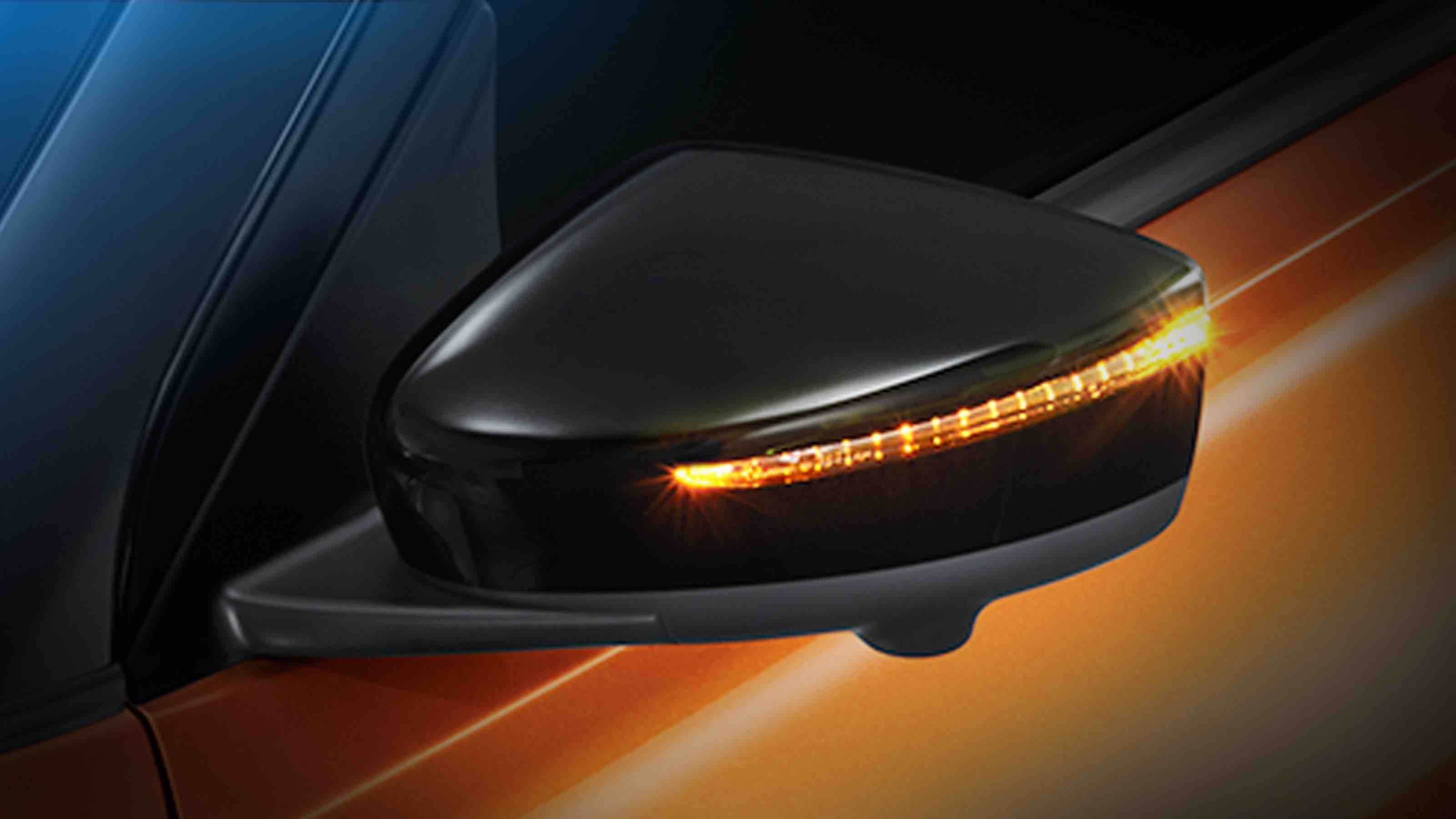 SIDE MIRROR WITH LED TURN SIGNAL