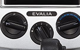sticker evalia on center cluster