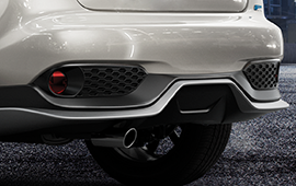 rear lower bumper panel