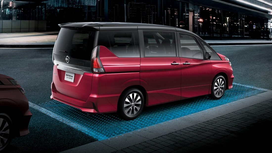 Nissan Intelligent Mobility - Serena