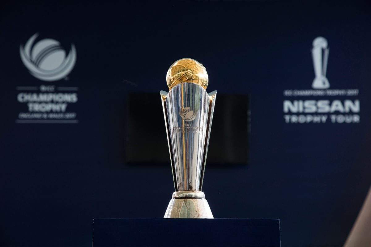 ICC CHAMPIONS TROPHY 2017 NISSAN TROPHY TOUR KICKS OFF IN INDIA