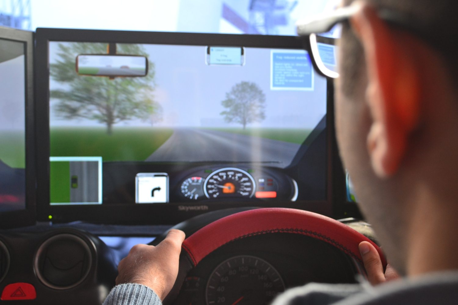 Safety Driving Simulator