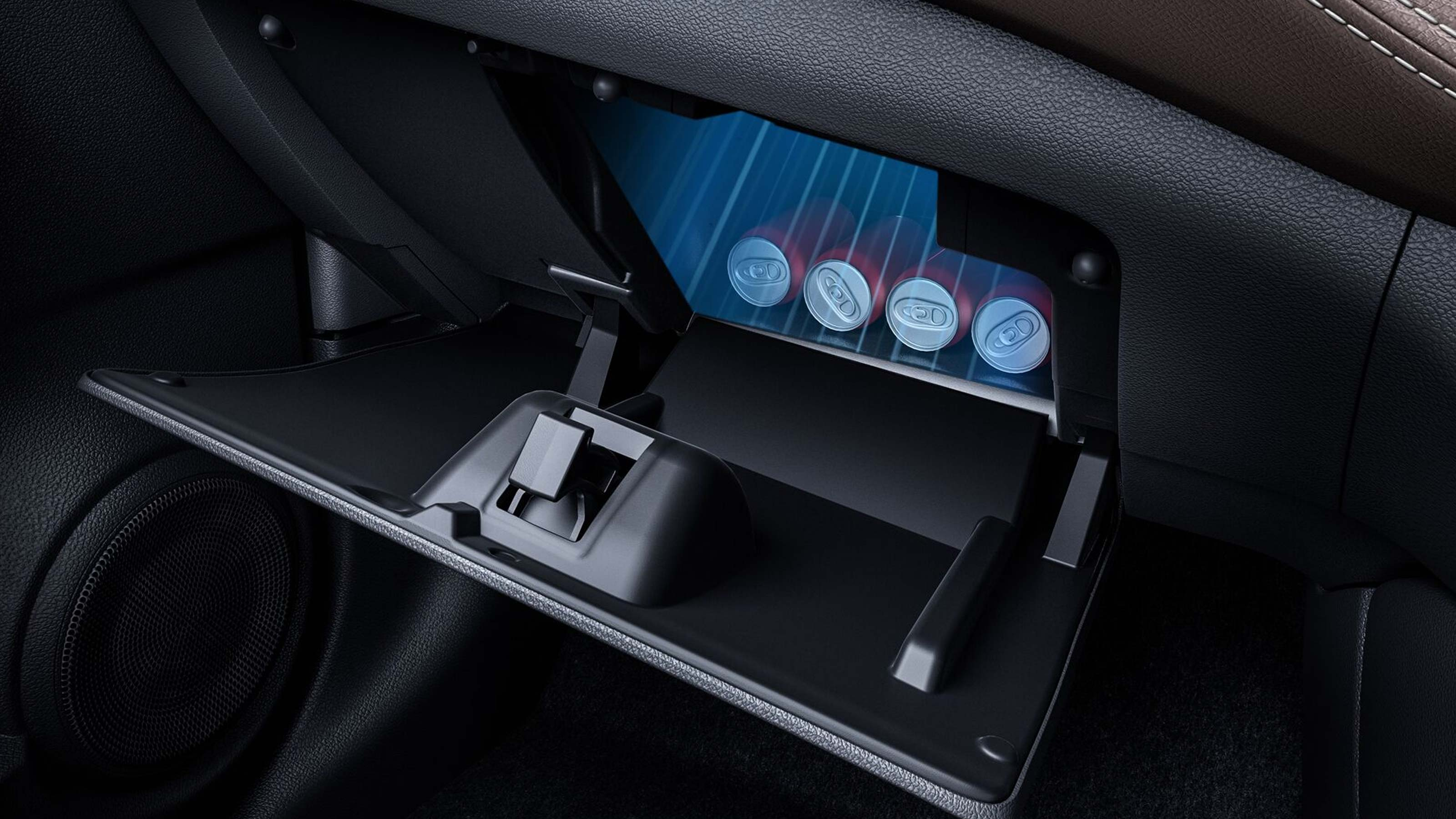 Cooling Glove Box with illumination