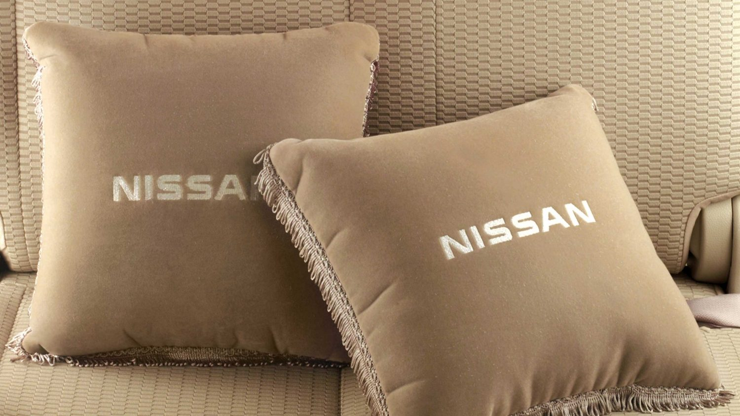Cushion Pillow Set - Greige
