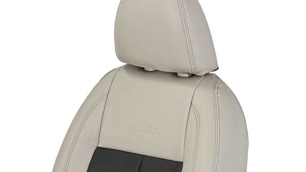 Seat Cover - Art Leather (Beige + Black)