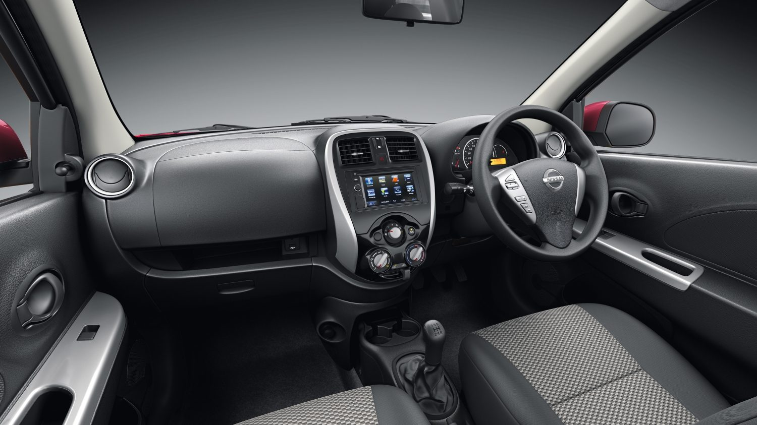 Nissan Micra Active dashboard