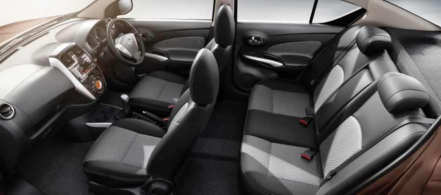 Nissan Sunny interior seating