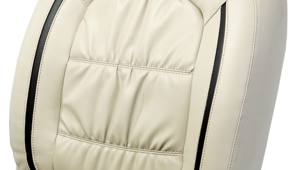Seat Cover - Art Leather Beige + Greige Lining