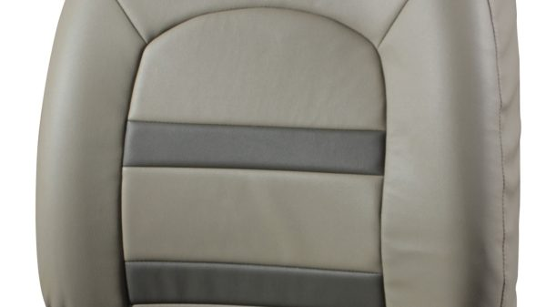 Seat Cover - Art Leather - Beige + Greige