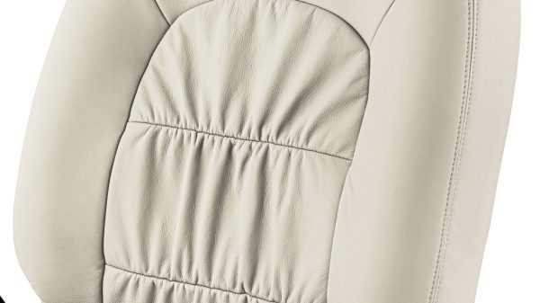 Seat Cover - Art Leather + Beige Gathering