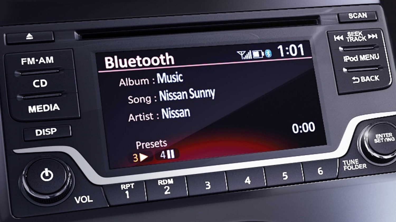 Bluetooth audio system