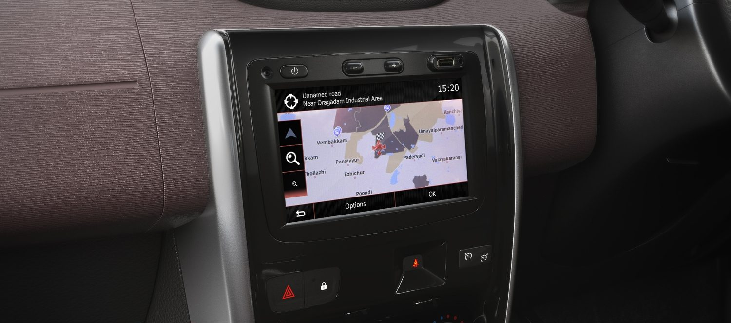 "7.0"" Touchscreen Navigation"