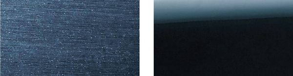 自動洗車機にかけた場合の塗装面の比較